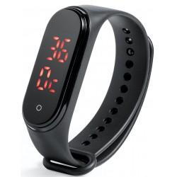 Relógio de pulso com termômetro