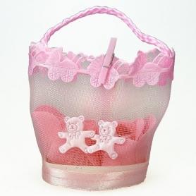 Sabonete de pétala de rosa