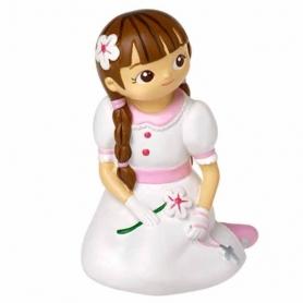 Figura original da menina da comunhão