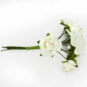 Papel das flores para decorar presentes