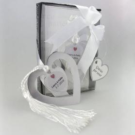 Detalhes personalizados do convidado do casamento