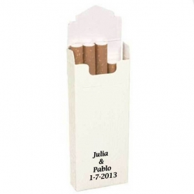 Pacotes De Tabaco Brancos