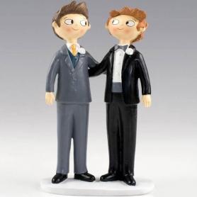 Figuras para bolos de casamento gay