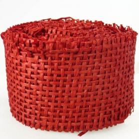 Roll Ribbon Grid para detalhes vermelhos