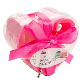 Presentes de casamento de flores de sabão