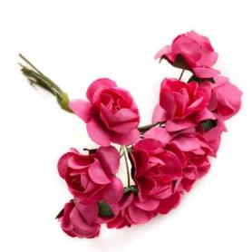 Papel de enfeites de flores