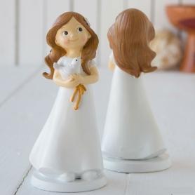 Figura comunhão bolo menina