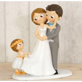 Figuras para bolo de casamento