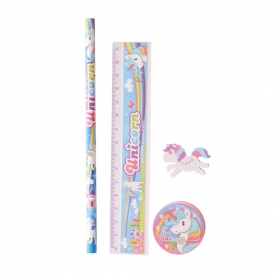 Papelaria Unicorn Set