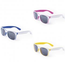 Óculos de sol de duas cores