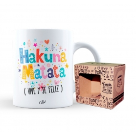 Caneca original de Hakuna Matata