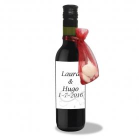 Garrafas de vinho para casamentos