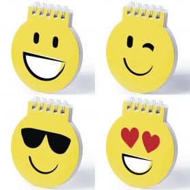 Emoticons Mini Notebook