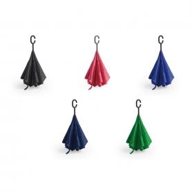 Guarda-chuva com abertura invertida