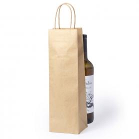 Garrafa De Vinho Kraft Bag