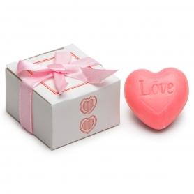 Sabonetes em forma de coração