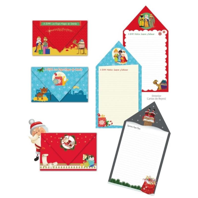 Cartas para o Papai Noel e os três Reis Magos