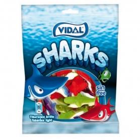 Shakes com formas de tubarão