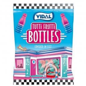 Tutti Frutti Flavour Candy Bottles