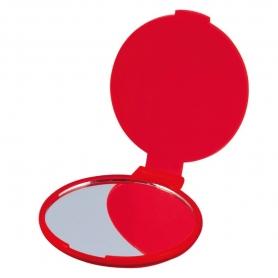 Espelho Dobrável Vermelho