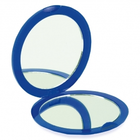 Espelho Dobrável Duplo Azul