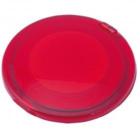 Espelho Dobrável Duplo Vermelho