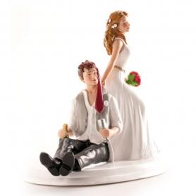 Figura Bolo Noivo De Casamento Bêbado