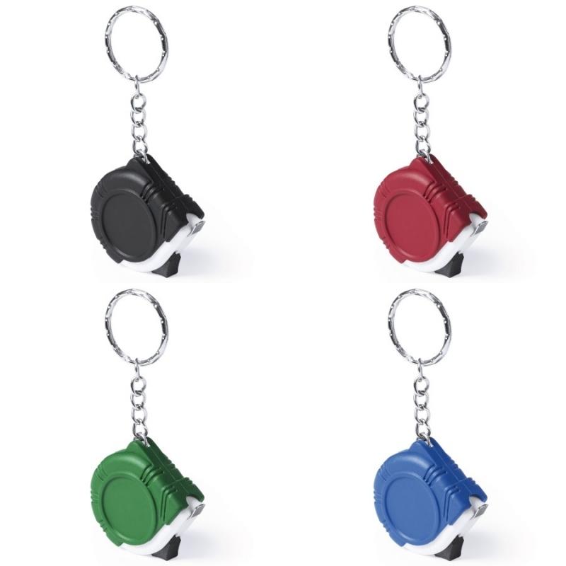 Chaveiros Coloridos com Medidores