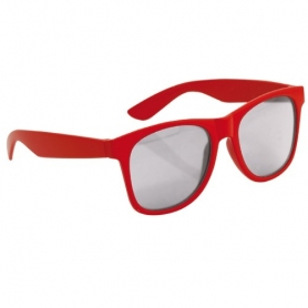 Espelho de criança de óculos de sol