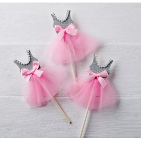 Bailarina Pic Cinzenta-rosa
