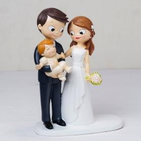 Figura casamento com criança