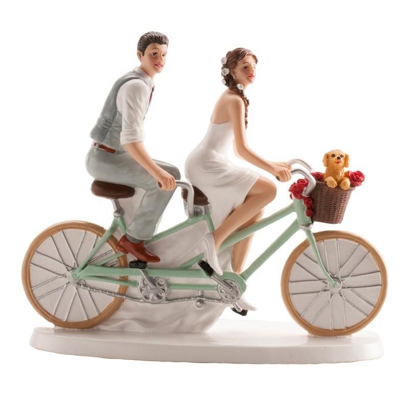 Figura do casamento do casamento da bicicleta