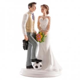 Figura Casal de Casal de Futebol