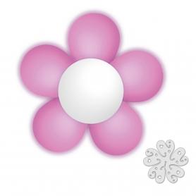 Pacote De Flor De Balão Rosa